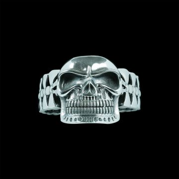 Skull Designer Bangle (84 Grm)