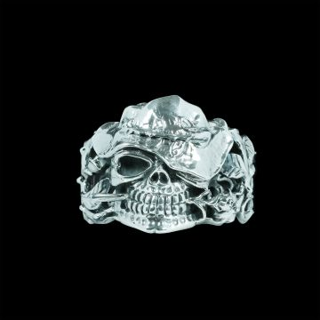 Skull Designer Bangle (38.3 Grm )