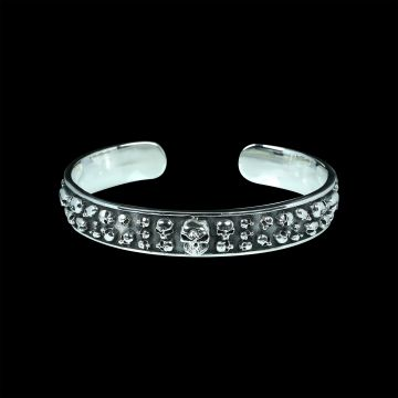 Skull Designer Bangle (48.6 Grm)