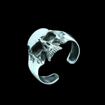 Skull Designer Bangle (103.7 Grm)