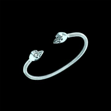 Crystal Cut Designer Bangle (21.4 Grm)