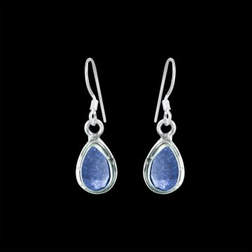 Sapphire Real Cut Stone Designer Earring (1.8 Grm)