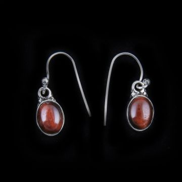 Red Tiger Eye Stone Earring(2.1 Grm)