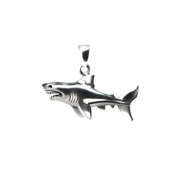 Shark Fish Pendant (9 Grm )
