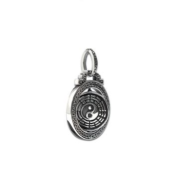 Buddhist Mantra Two Side Moving Pendant (22.7 Grm)