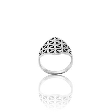Flower Of Life Ring (4.2 Grm)