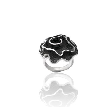 Designer Flower Ring (11.5 Grm)
