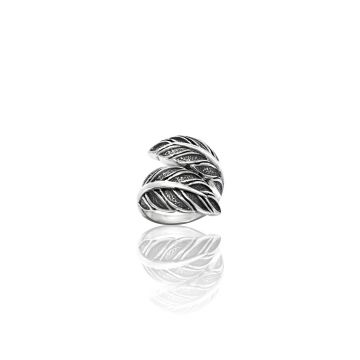 Designer Leaf Ring (11.8 Grm)