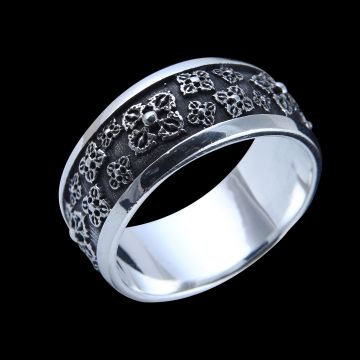 Plain Designer Ring (14.5 Grm)